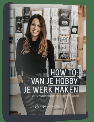 Cover how to van je hobby je werk maken