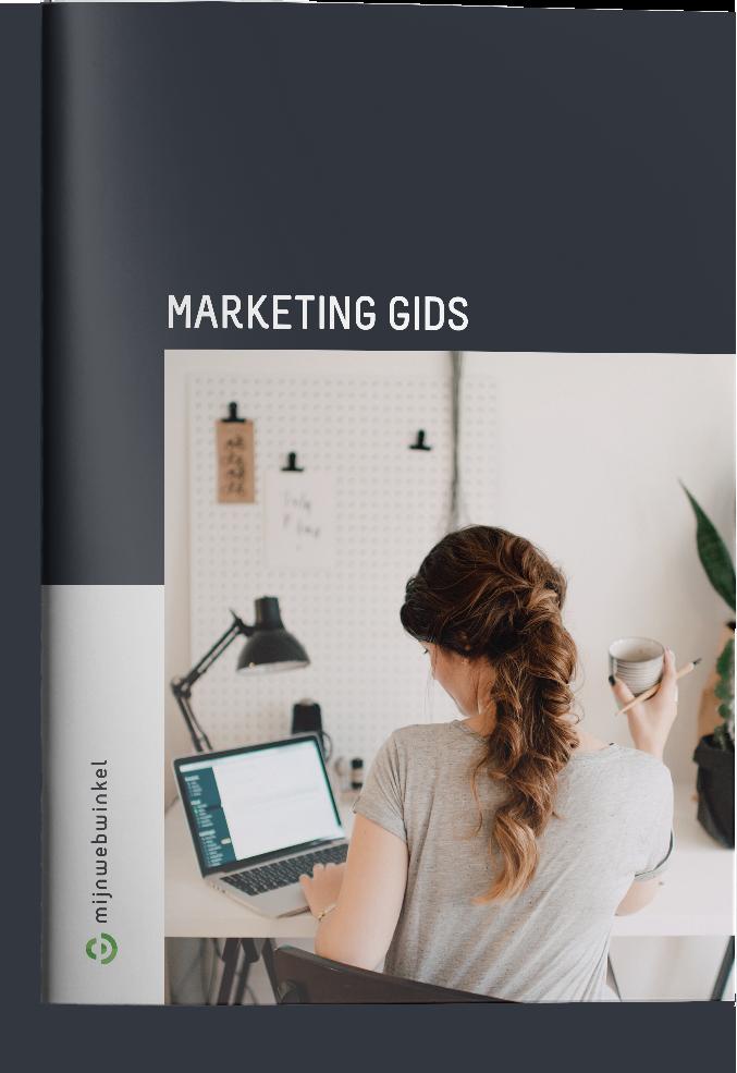 Marketing gids mock-up